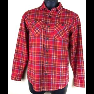 RED CAMEL Men's Flannel Button Down Shirt Sz Small